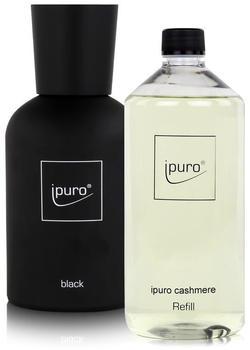 iPuro Black Flakon + Cashmere Refill (1000ml)