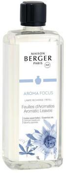 Lampe Berger Aroma Focus Feuilles d'Aromates (1000ml)