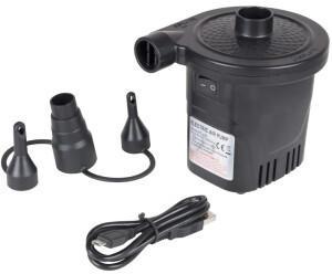 Bo-Camp Elektrische Luftpumpe mit USB-Anschluss 250 L/min 12/230 V