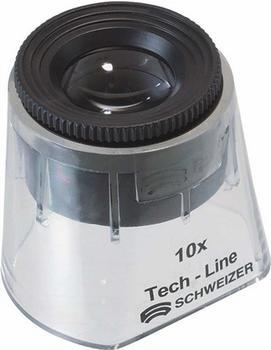 Tech-Line Schweizer Standlupe Focus Vario 10x