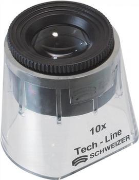 Tech-Line Schweizer Standlupe Focus Fix 10x
