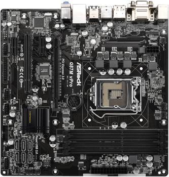 Asrock Q87M vPro (90-MXGQ80-A0UAYZ)