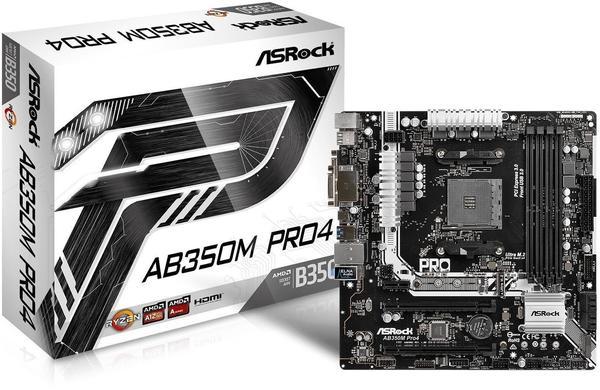 ASRock AB350M Pro4