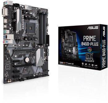 Asus PRIME B450-Plus Mainboard Sockel AM4