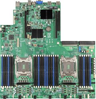 Intel Server Board S2600WTTS1R - Motherboard - LGA2011-v3-Sockel - 2 Unterstützte CPUs - C612 - USB 3.0 - 2 x 10 Gigabit LAN - Onboard-Grafik