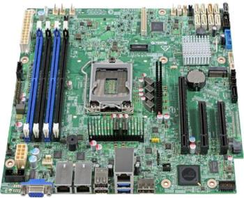 Intel S1200SPOR Intel C236 Micro ATX Server-/Workstation-Motherboard