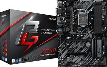 Asrock Z390 Phantom Gaming 4 ATX Intel DDR4 retail (90-MXB8X0-A0UAYZ)