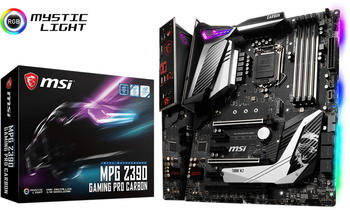 MSI MPG Z390 Gaming PRO Carbon, Mainboard