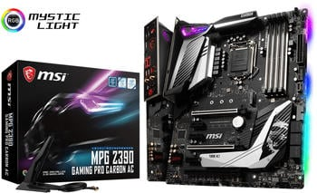 MSI MPG Z390 Gaming PRO Carbon AC, Mainboard