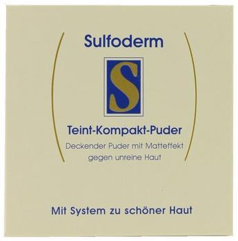 Ecos Sulfoderm S Teint Kompakt Puder natur