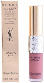 Yves Saint Laurent Full Matte Shadow 02 Insolent Red (4,5ml)