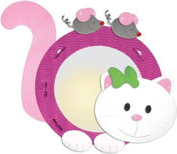 Ursus Laternen-Bastelset rund - Kätzchen