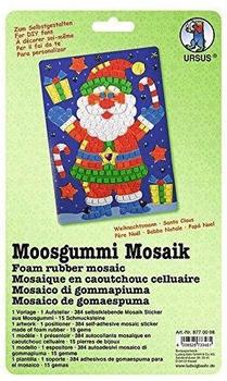 Ursus Moosgummi-Mosaik Weihnachtsmann