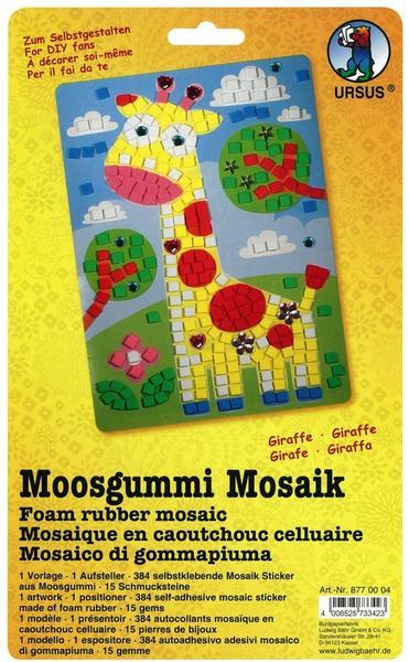 Ursus Moosgummi-Mosaik Giraffe
