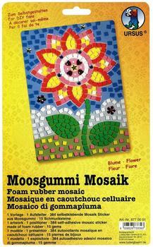 Ursus Moosgummi-Mosaik Blume