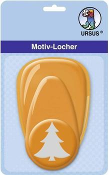 Ursus Motiv-Locher mittel Tannenbaum