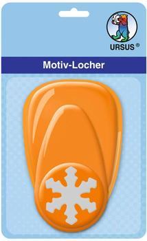 Ursus Motiv-Locher mittel Schneeflocke