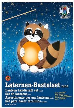 Ursus Laternen-Bastelset rund - Waschbär