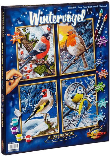 Schipper Malen Nach Zahlen Wintervögel Test Ab 2200 Bei