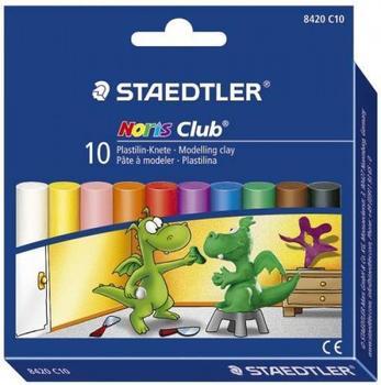 Staedtler Noris Club Plastilin-Knete 10er Etui