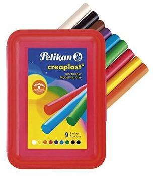 Pelikan Creaplast Knetmasse 9 Farben