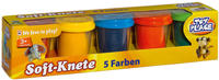 Toy Place Soft-Knete 5 Farben