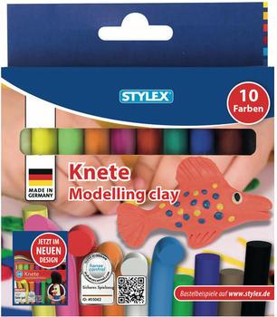 Stylex Knete 10 Farben