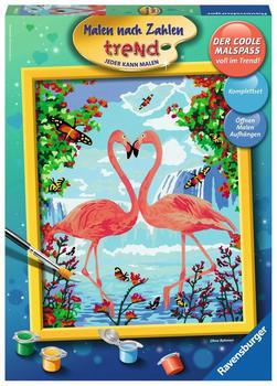 Ravensburger Malen nach Zahlen - Flamingo Love