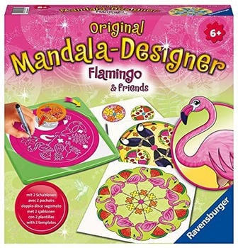 Ravensburger Original Mandala-Designer Flamingo & Friends