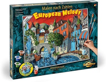 Schipper 609130821 Malen nach Zahlen The European Melody