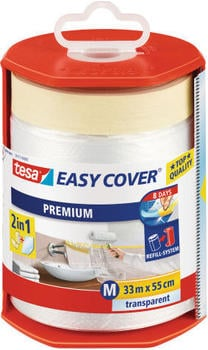 Tesa EASY COVER Premium Abdeckfolie 4368 (33 m x 55 cm)
