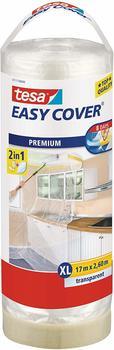 Tesa EASY COVER Premium Abdeckfolie 4368 Nachfüllrolle (17 m x 2,60 m)