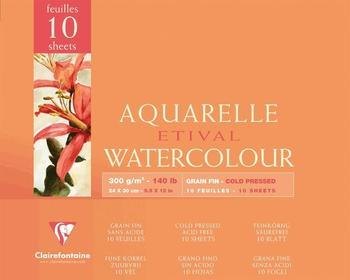 Clairefontaine Aquarellblock 24 x 30 cm (96571C)