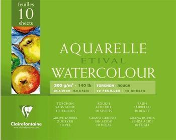 Clairefontaine Aquarellblock 24 x 30 cm (96561C)