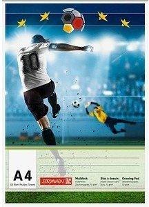Brunnen Zeichenblock Fußball A4 (104740758)