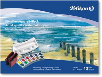 Pelikan Künstler-Aquarell-Block 30 x 40cm FR3 10 Blatt