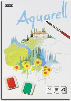 Herlitz Aquarellblock A4 20 Blatt 150 g/m²
