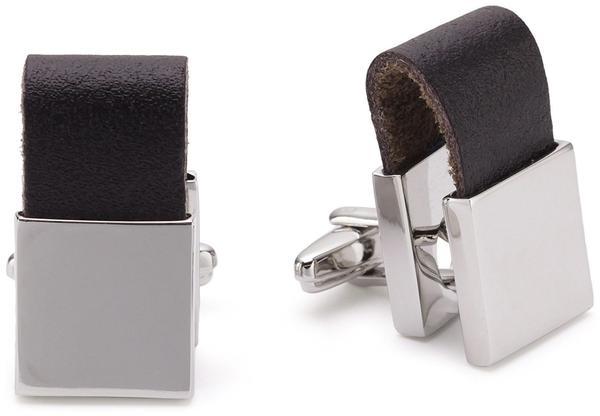 Teroon Unisex-Manschettenknopf Leder (609805)