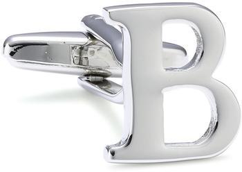 Teroon Unisex-Manschettenknopf Buchstaben Initialen B (608365)