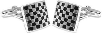 grom-manschettenknoepfe-schachbrettmuster-silber-schwarz-615400