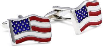 Teroon Unisex-Manschettenknopf Amerikaflagge (609034)
