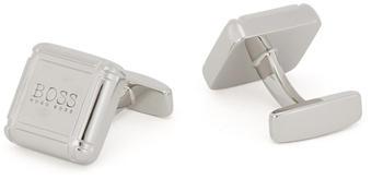 Hugo Boss Set mit Manschettenknöpfen und Krawattennadel aus poliertem Metall (50447848) silber