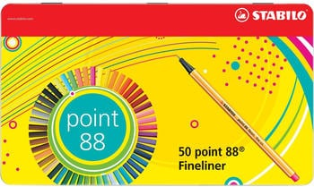 STABILO point 88 50-Stk. (8850-6)