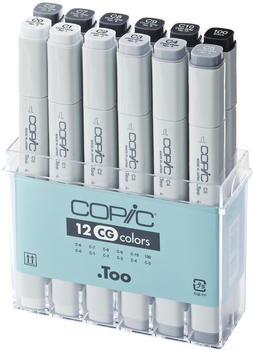 COPIC Classic 12er Grau-Set CG (20075151)