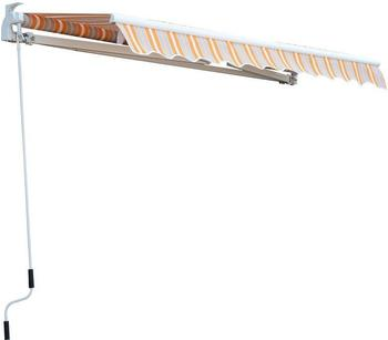 Outsunny 350 x 250 cm orange-weiß (01-0123)