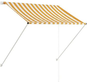 vidaXL (145890) 100x150 cm yellow/white