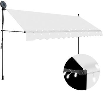vidaxl-einziehbare-markise-led-350-cm-creme-145874