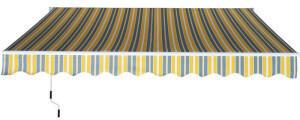 Outsunny 250 x 350 cm gelb (840-174YL)