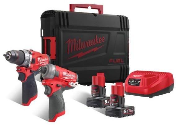 Milwaukee M12FPP2AQ-602X M12 Set