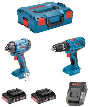 Bosch Kit GSB 18V-21 + GDR 18V-160 (2 x 2,0 Ah + AL1820CV + L-Boxx 136)